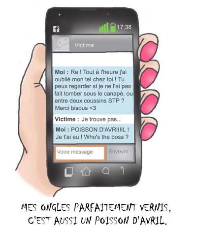 blagues 1er avril sms