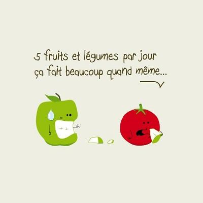 blagues 5 fruits et legumes par jours