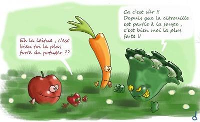 blagues 5 fruits et legumes