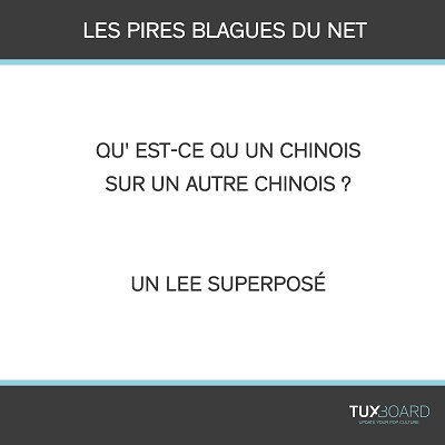 blagues chinois