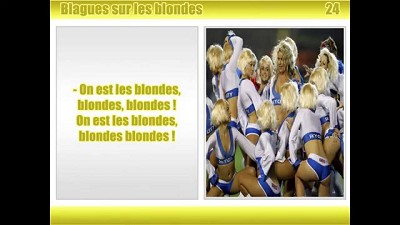 blagues courtes blondes