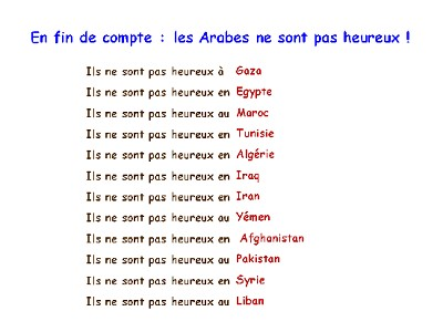 blagues d'arabes droles