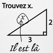 blagues de maths