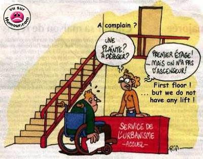blagues handicapes