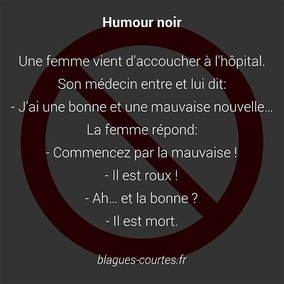 blagues humour noir