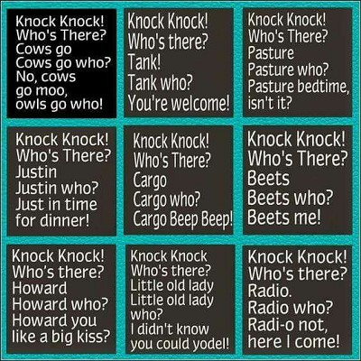 blagues knock knock