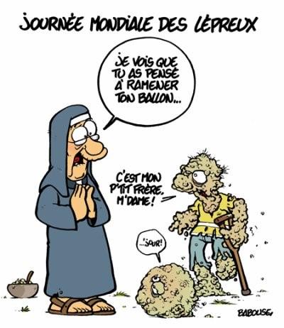blagues lepreux