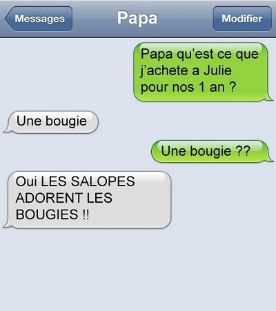 blagues messages