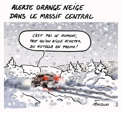 blagues neige