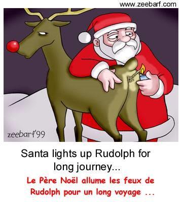 Blagues noel humour - Image humoristique pere noel ...