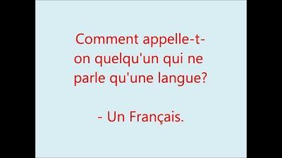 blagues un francais un americain