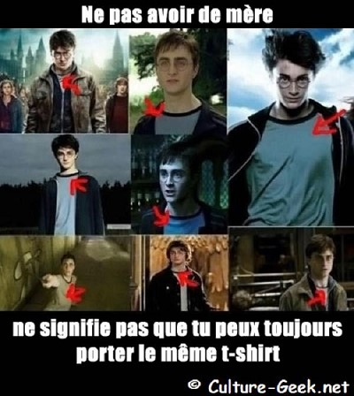 blagues univers harry potter