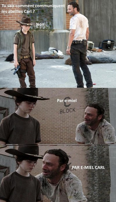 blagues walking dead