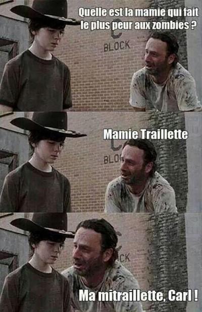 blagues walking dead